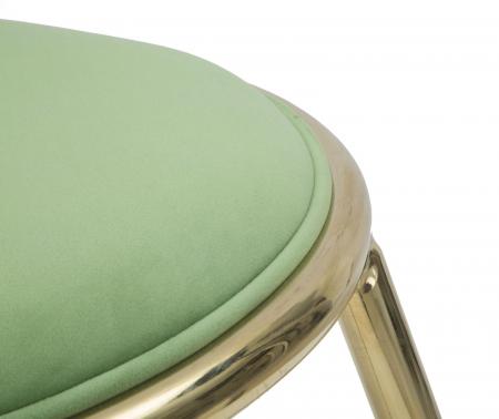 Taburet EMILY, verde, 45X45 cm, Mauro Ferretti5