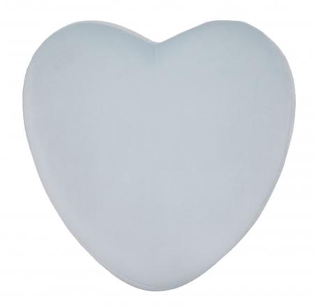Taburet HEART  LIGHT BLUE (cm) 38X38X423