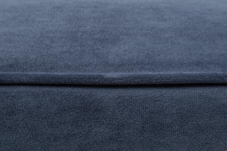 Taburet pentru picioare Veneta, Albastru petrol, 55x40x45 cm3