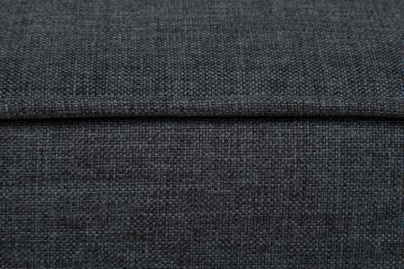 Taburet pentru picioare Veneta, Gri inchis, 55x40x45 cm3