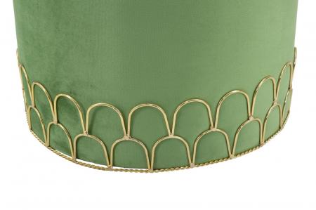 Taburet RING GREEN (cm) Ø 35X424