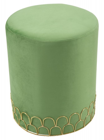 Taburet RING GREEN (cm) Ø 35X420