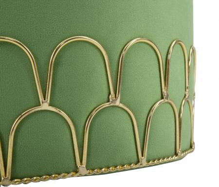 Taburet RING GREEN (cm) Ø 35X425