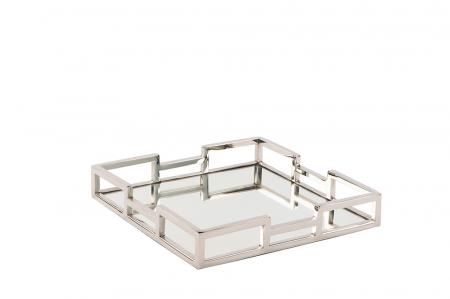 Tava cu oglinda HOMMAGE, otel inoxidabil, 30 x 5 x 30 cm [1]