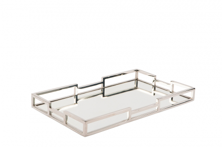 Tava cu oglinda HOMMAGE, otel inoxidabil, 40 x 5 x 25 cm [0]