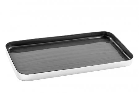Tava DIPA, aluminiu/email/otel, 2x13x25 cm0