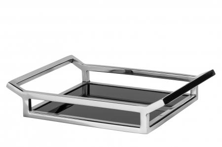 Tava PIANO, inox/sticla, 36x30x5 cm, Fink [0]