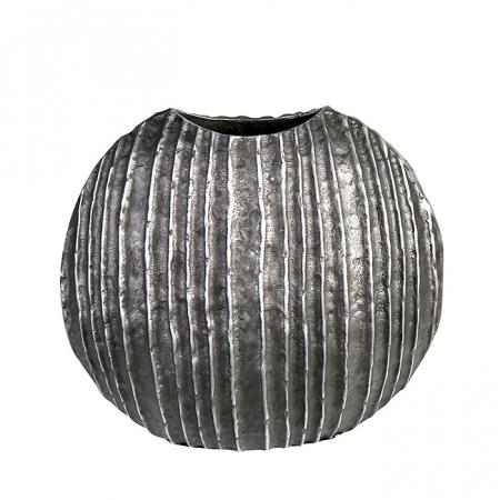 Vaza VULCANO, aluminiu, 26x24x24 cm1