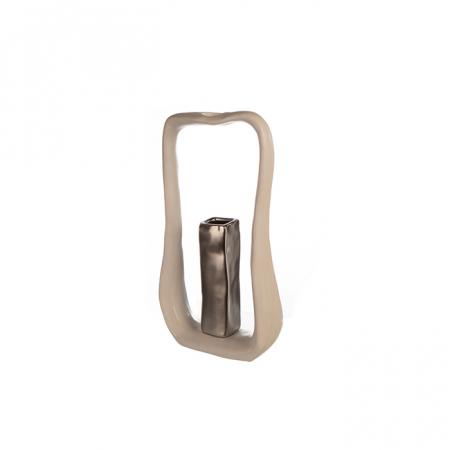 Vaza KADOMA, ceramica, 27.5x14x5.5 cm0