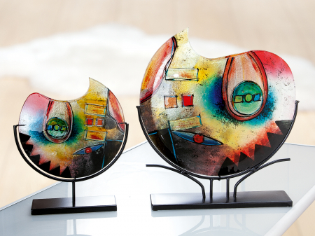 Vaza CONFUSO, sticla, 11x49x47 cm1