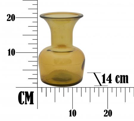 Vaza CUP, galben, 14X20 cm, Mauro Ferretti 7
