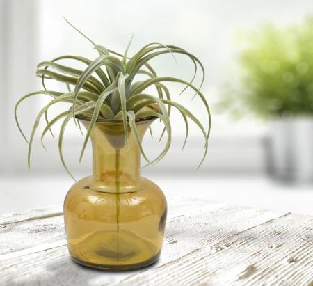 Vaza CUP, galben, 14X20 cm, Mauro Ferretti 6