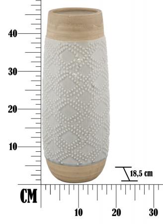 Vaza GLACE (cm) Ø 18,5X46,56