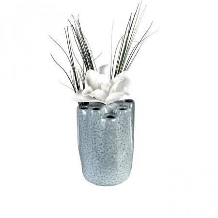 Vaza HOLES, ceramica, 20x14 cm0