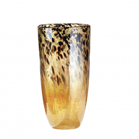 Vaza LEOPARDO, sticla, 18x36.5 cm0
