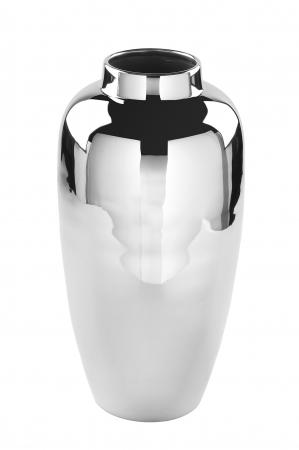 Vaza LIVORNO, metal/nichel, 40x20 cm0