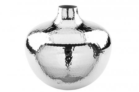 Vaza PALLAS, metal/nichel, 25x27 cm0