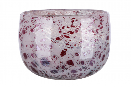 Vaza ROSE, sticla, 22x14.5 cm1