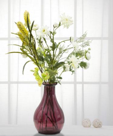 Vaza TROY, violet, 20X31 cm, Mauro Ferretti 6