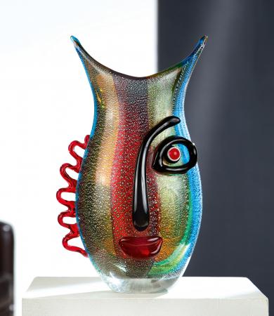Vaza VISTA, sticla, 12x18x32 cm0