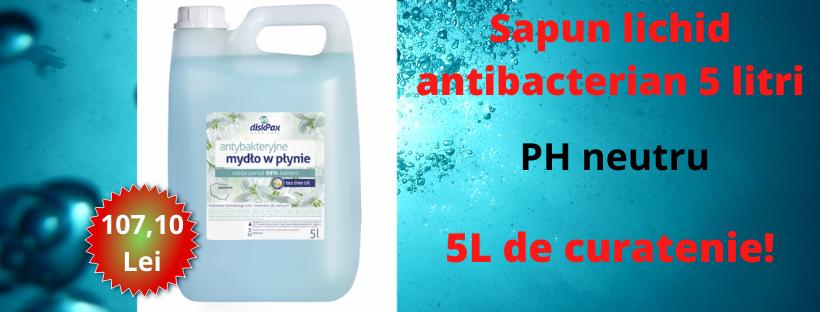Sapun lichid antibacterian 5 L