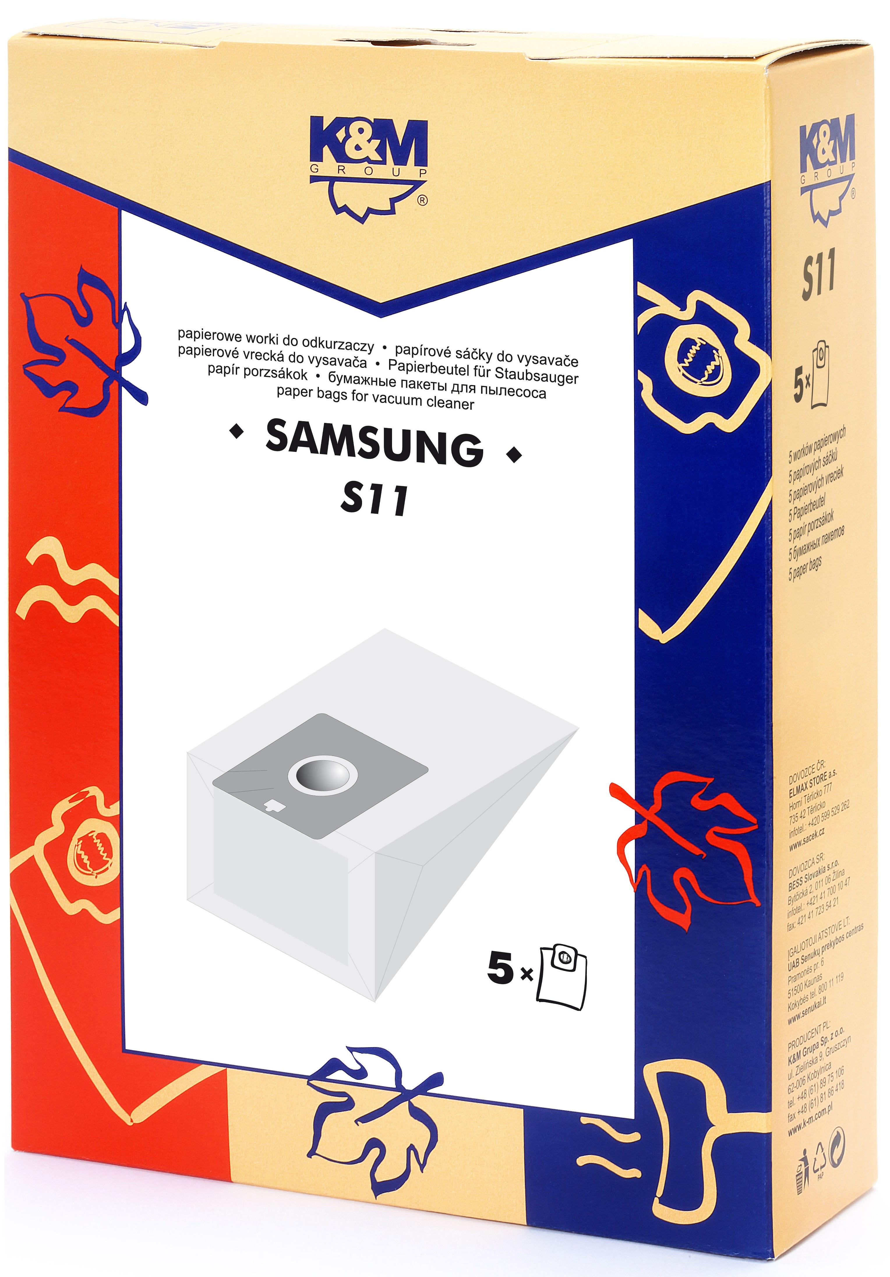 Sac aspirator Samsung VP77, hartie, 5X saci, K&M [0]