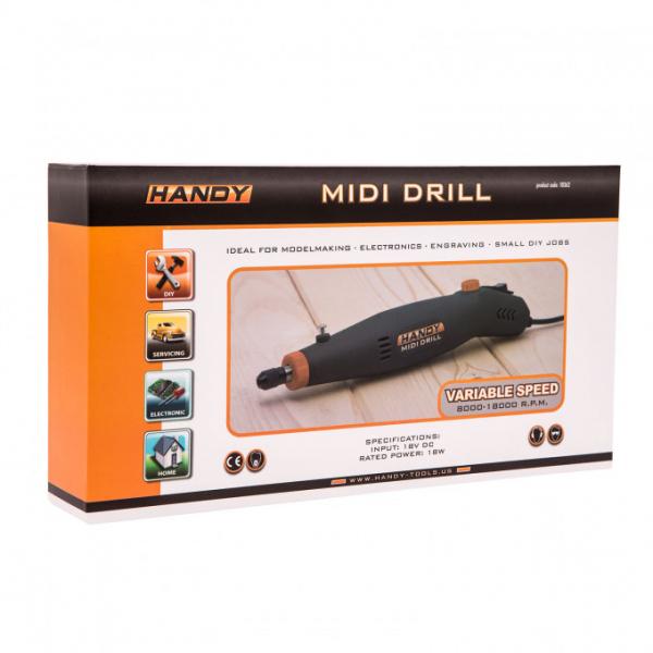 Mini-masina de gaurit si gravat universala, HANDY DRILL MIDI 2