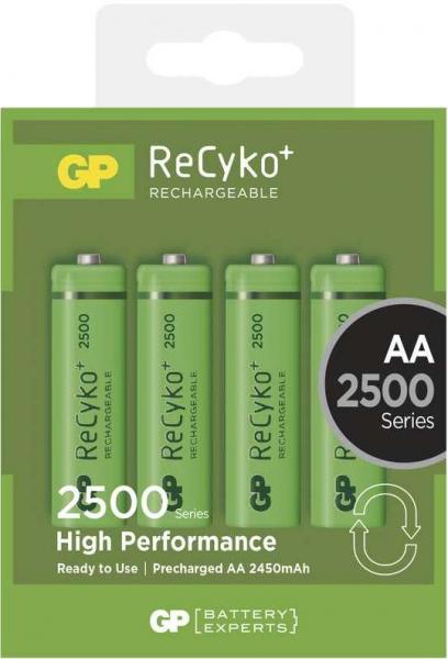 Acumulator AA (R6) GP NiMH Recyko+ 2500mAh 4 buc/blister [0]