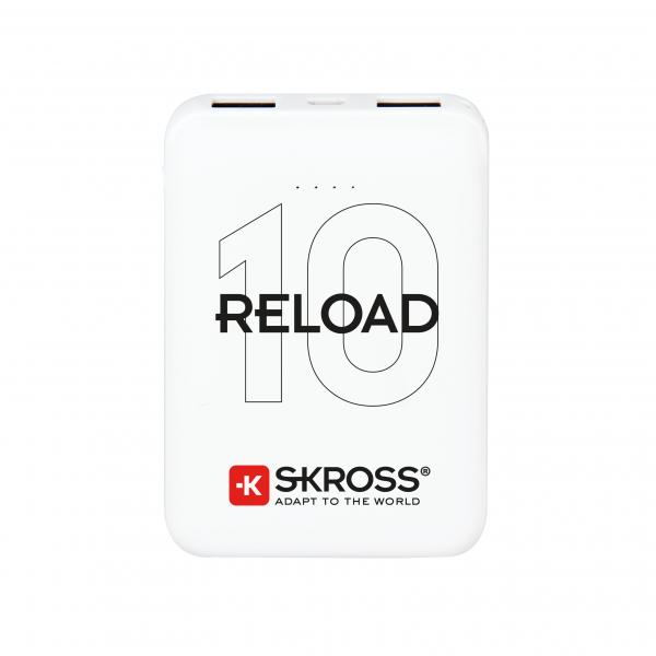 Acumulator extern powerbank Skross Reload 10000mAh alb [0]