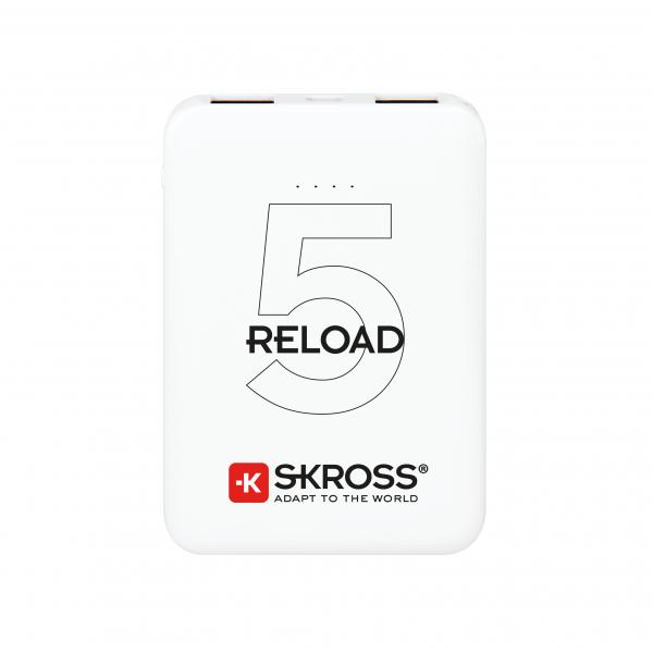 Acumulator extern powerbank Skross Reload 5000mAh alb [0]