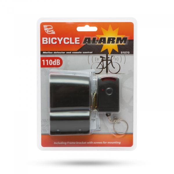 Alarmă biciclete cu telecomandă şi sirenă 110 dB 2