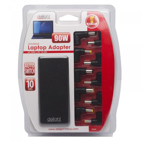 Alimentator laptop Universal automatic 12-24V/5-6A 90W 2