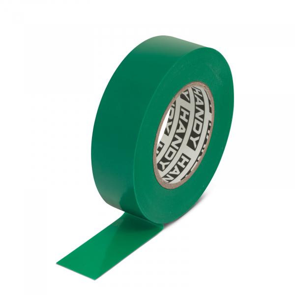 Banda izolatoare- 19 mm x 20 m - Verde 0