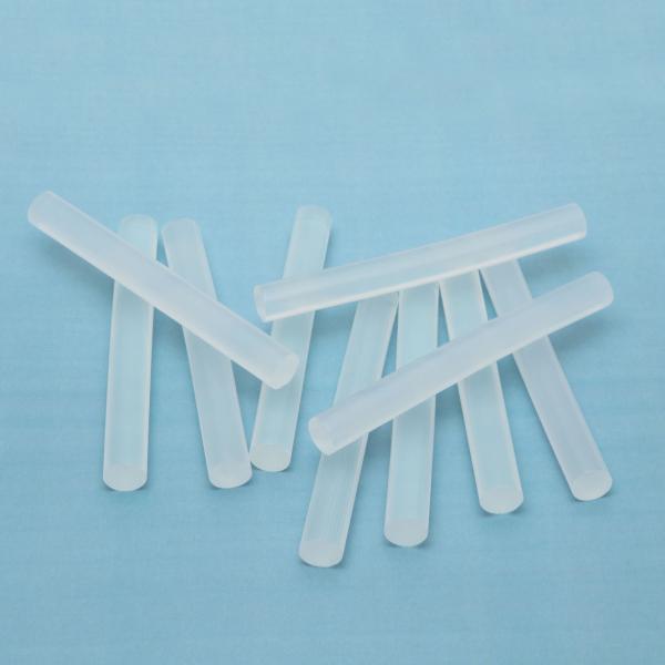 Baton silicon termoadeziv - 11 mm - transparent 0