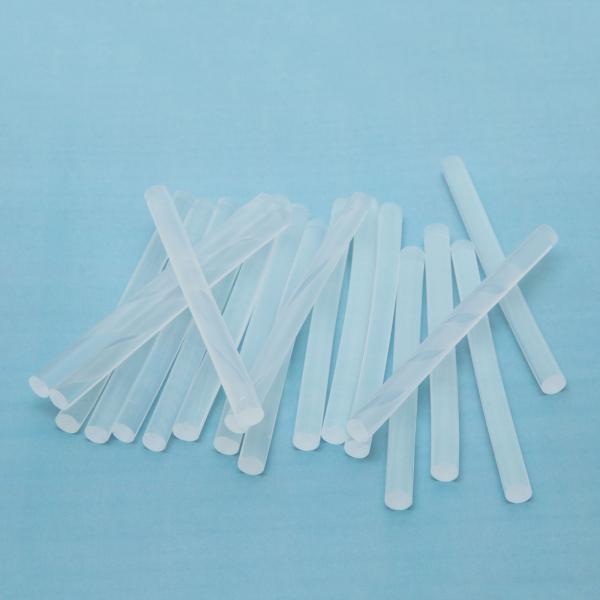 Baton silicon termoadeziv - 7 mm - transparent 0