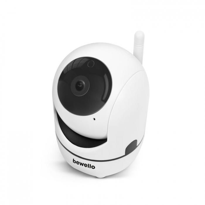 Cameră de supraveghere copii / bebelusi Smart - WiFi - 1080p - rotire 360° - pentru interior [3]