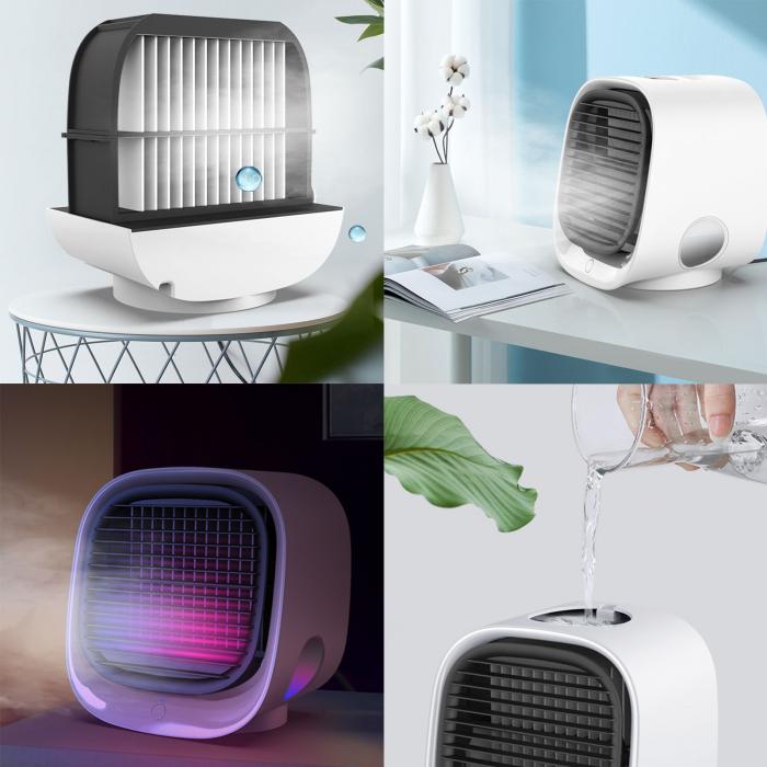 Ventilator portabil racire cu apa aer in camera [2]