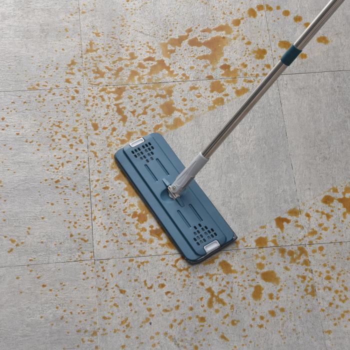 Set MOP, lavetă cu microfibre + găleată pentru curatenie [3]