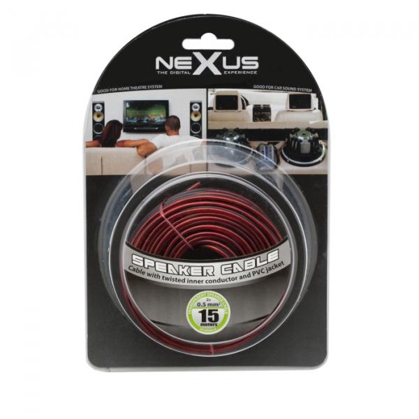 Cablu difuzor 2x0,5mm² 15m 1