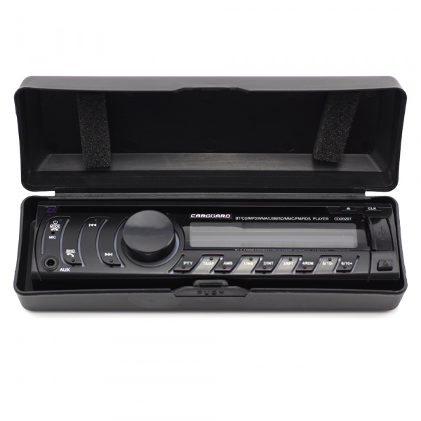 CD MP3 player auto cu BLUETOOTH, butoane in 7 culori diferite, FM, USB card SD, AUX IN 1