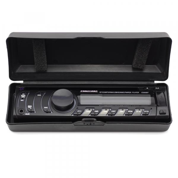 CD MP3 player auto cu BLUETOOTH, butoane in 7 culori diferite, FM, USB card SD, AUX IN [1]