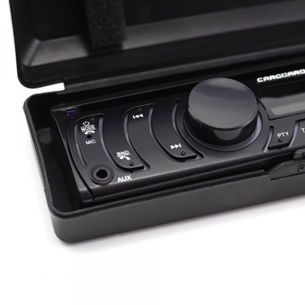 CD MP3 player auto cu BLUETOOTH, butoane in 7 culori diferite, FM, USB card SD, AUX IN [2]
