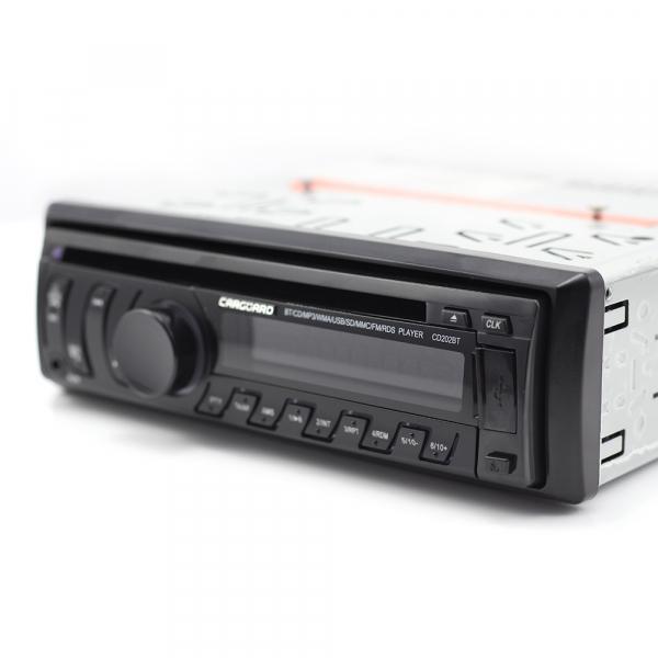 CD MP3 player auto cu BLUETOOTH, butoane in 7 culori diferite, FM, USB card SD, AUX IN [5]