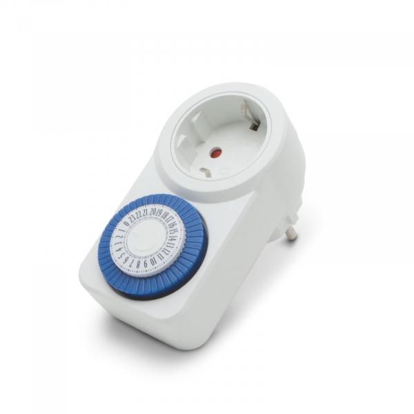 Priza cu ceas cu temporizator analogic 0