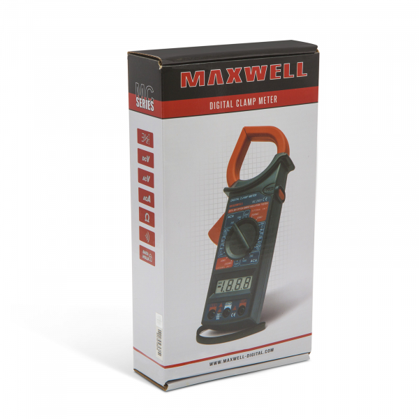 Clampmetru-Multimetru Maxwell 4