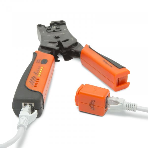 Cleste de sertizare, cu tester cablu [3]