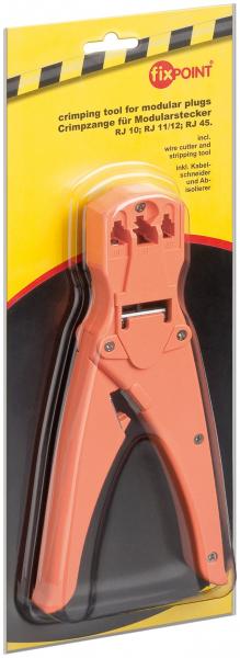 Cleste de sertizare mufe RJ10/RJ11/RJ12/RJ45 [0]