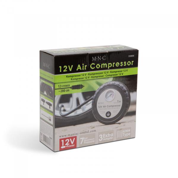Compresor auto 7 bari la bricheta 12V 4