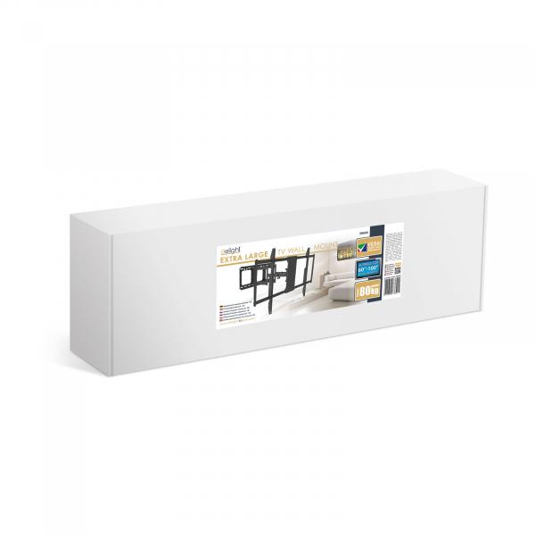 """Consolă-suport de perete pentru TV LCD, cu braţ, 60""""-100"""" sarcina max. 80kg 1"""