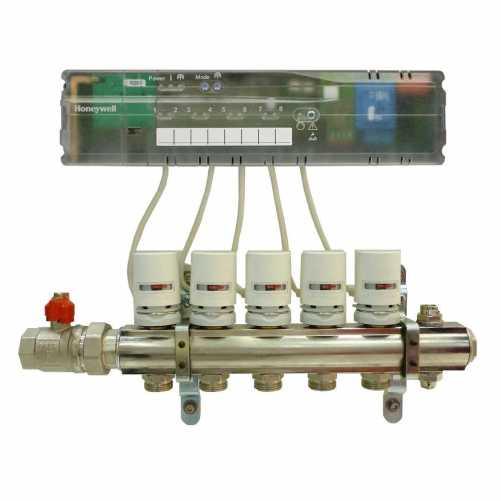 Controller wireless pentru incalzire in pardoseala HCC80 Honeywell 1